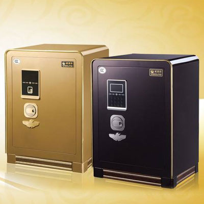 DC geared motors are used in safes