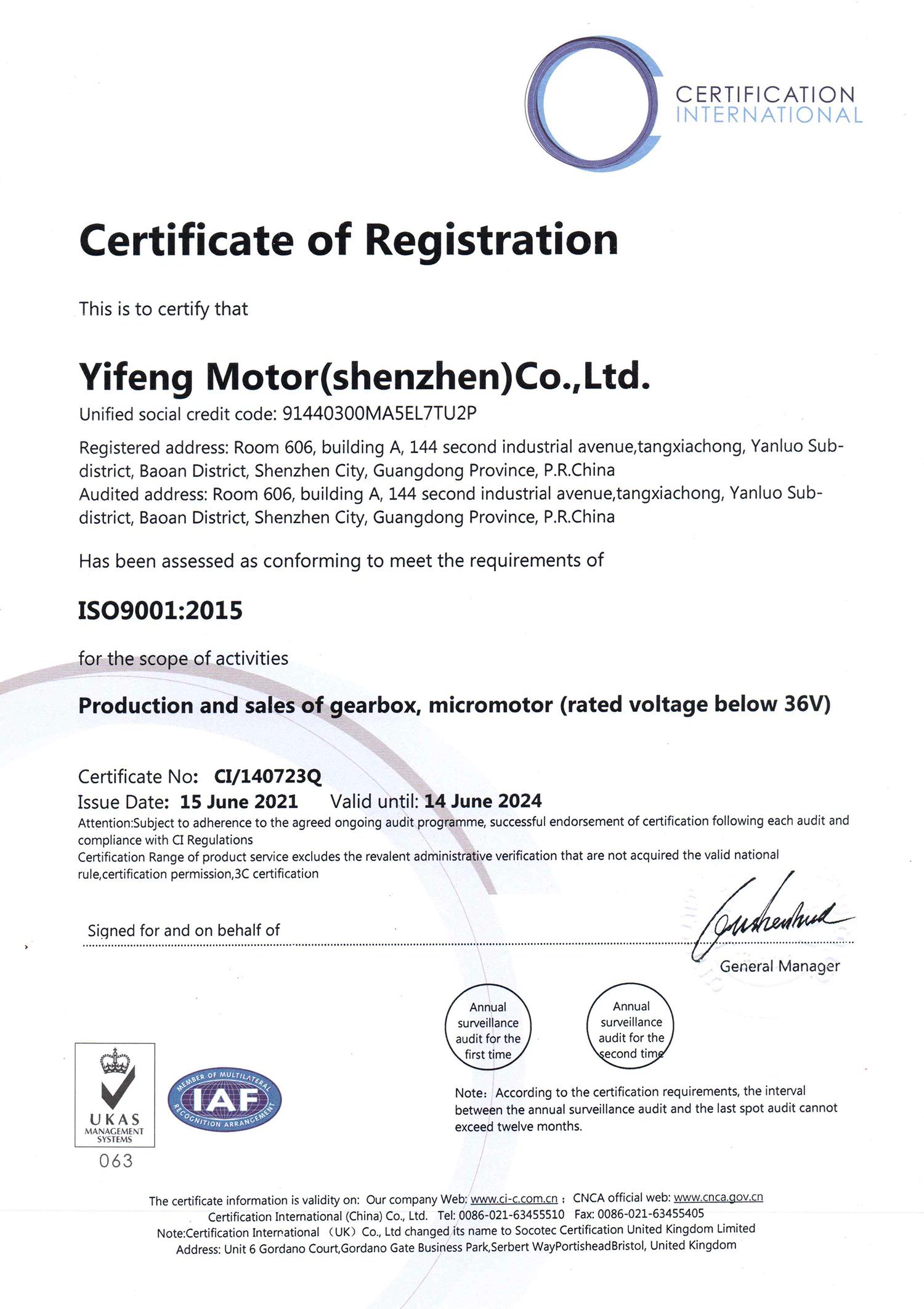 深圳毅丰电机ISO9001:2015英文版.jpg